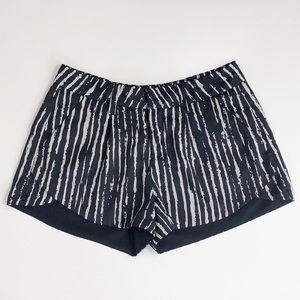 Allen B. By Allen Schwartz Black & Gray Shorts